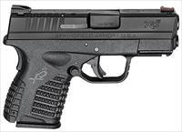 Springfield XDS9339BE Black XD-S Essential 9mm DAO 3.3 SHIPS FREE