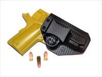 Aggressive Concealment RIOIWBLPCF-RH IWB Kydex Holster Rock Island 1911 Officer model w/3.5