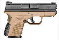 Springfield Armory XDS9339DEE XD-S 9mm Double 3.3 Flat Dark Earth finish