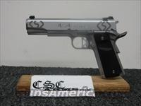 "CSC ARMS 1911 ""Diamond Series"" STAINLESS .45ACP Hand Fitted."
