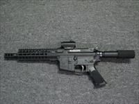 "CSC ARMS ""WARHAWK"" AR Pistol 300 Blackout 8"" with Red/Green dot sight."