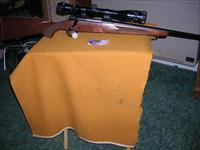 Winchester Model 70 Lightweight Rifle 243 caliber with Tasco Scope Post 64