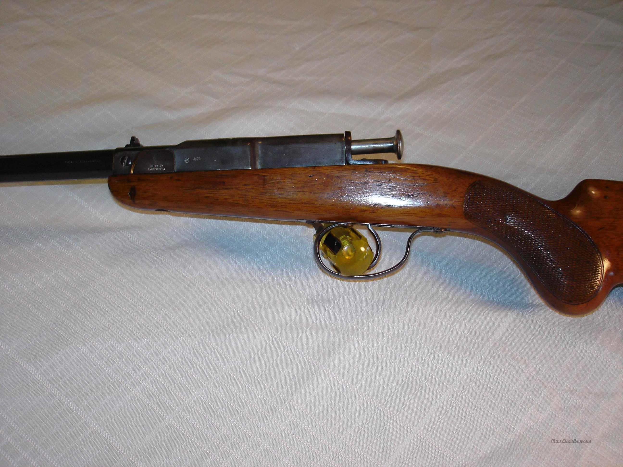 Deutsche werke model 1 german 22 lr single shot rifle
