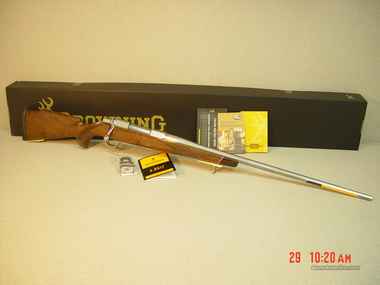 Browning A Bolt Ii White Gold Medallion 270wsm For Sale
