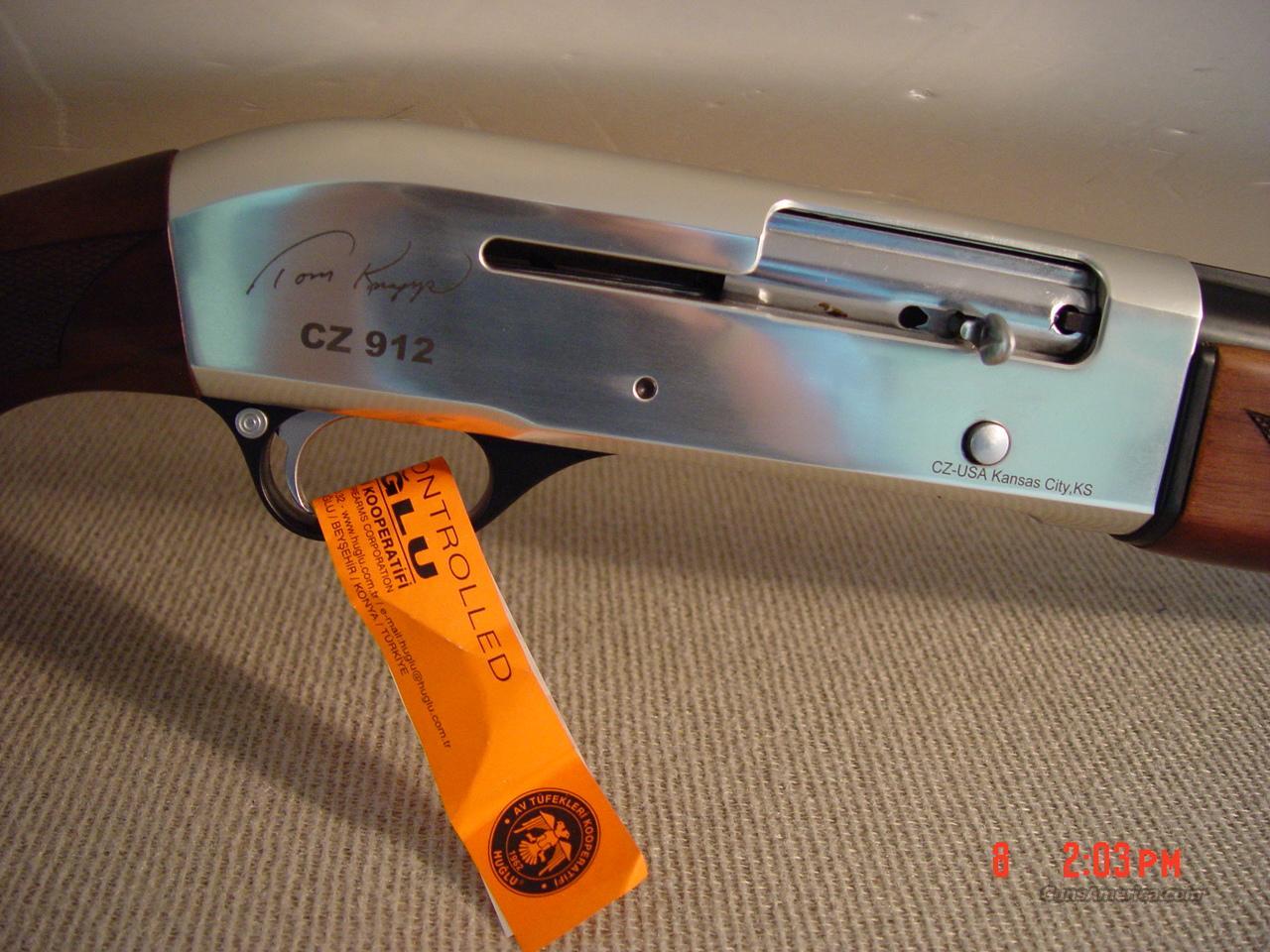 CZ-USA 912 SEMI-AUTO SHOTGUN 'TOM KNAPP' 12GA