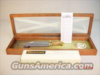 BROWNING ALAMO BOWIE KNIFE MODEL 002