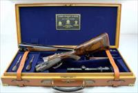 PURDEY DOUBLE RIFLE 470NE with SCOPE & CASE