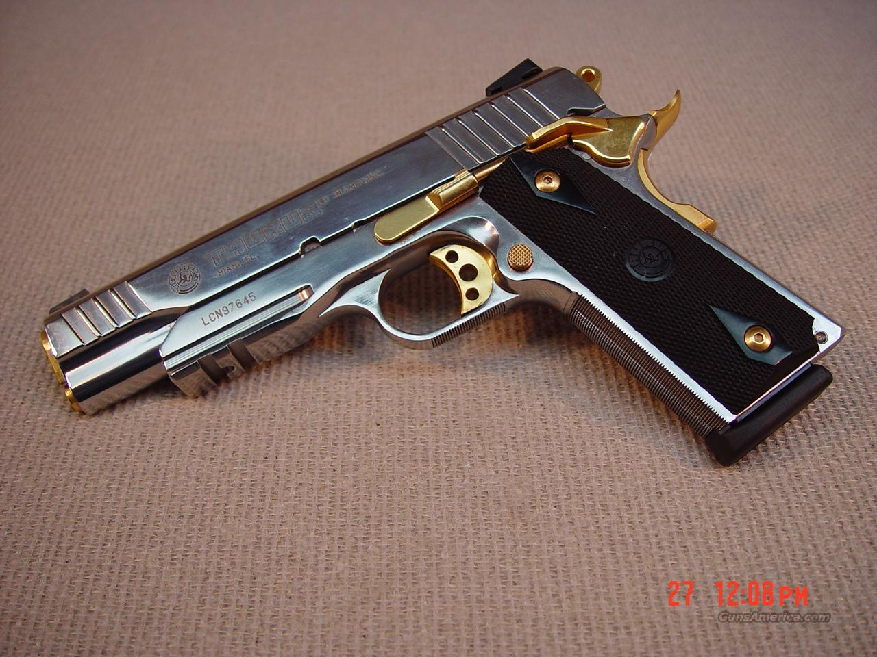 taurus pt1911 ar stainless 38super for sale