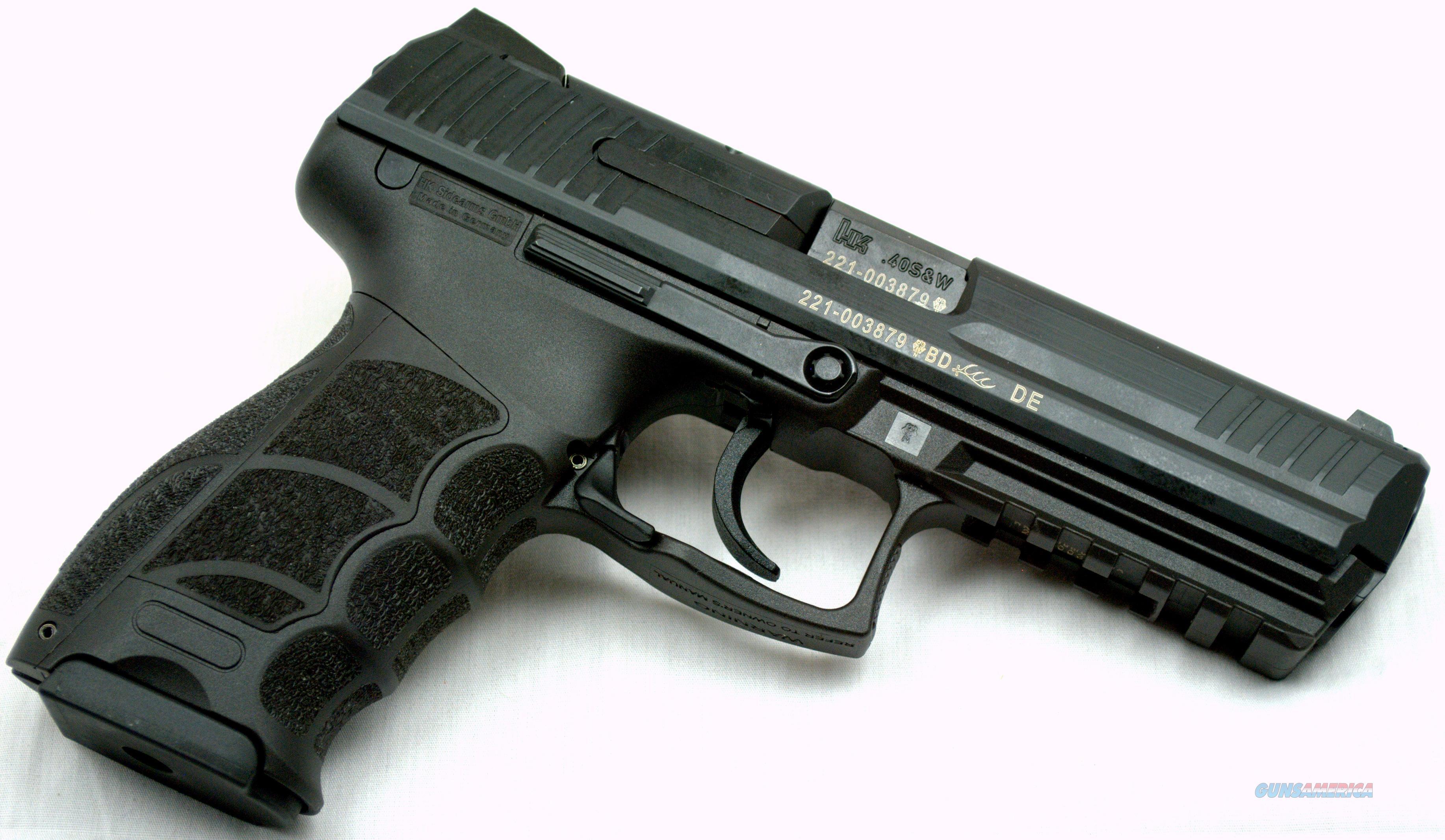 Heckler Koch P30l V1 Lem 40 Sw M734001l A5 For Sale 401 7321401