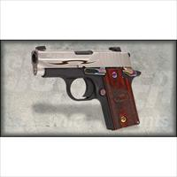 Sig Sauer P238 Rosewood Tribal .380ACP w/ Night Sights