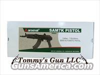 Arsenal SAM7K-01 Ak47 Pistol .308 7.62x39 NEW