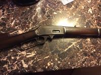 Extremely rare marlin 1893 sporting saddle ring carbine in 25-36 caliber