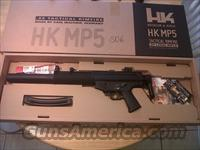 Heckler & Koch HK MP5 Tactical rimfire SD6 model 16.1 barrel 22 long rifle