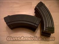 Ak47, 30 round magazine/clips all steel AK 30 round MAGSsome new and some used these are the mags that come with century arm AK's