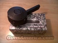 Glock 50 round drums, hole case of glock drums 20 to a case RWB made in Korea