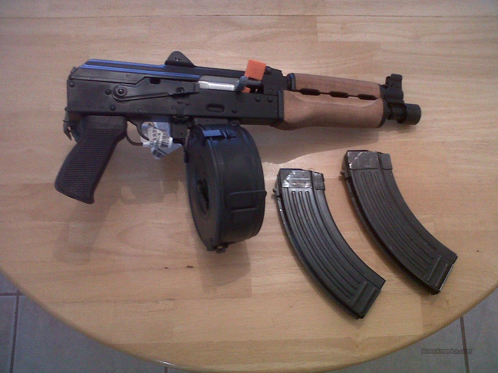 ak 47new with new 75 round drum and 2 new 30 ro for sale. Black Bedroom Furniture Sets. Home Design Ideas