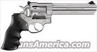 "Ruger GP100,Sku:1707,357magnum,6"",stainless,Hogue monogrip"