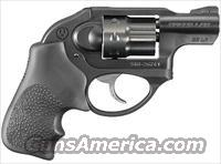 Ruger LCR 22 Model:5410,new,8rd,22lr,double action,polymer housing,alluminum frame,and steel cylinder with Hogue tamer grip 8 round 1.875 barrel #rug 5410