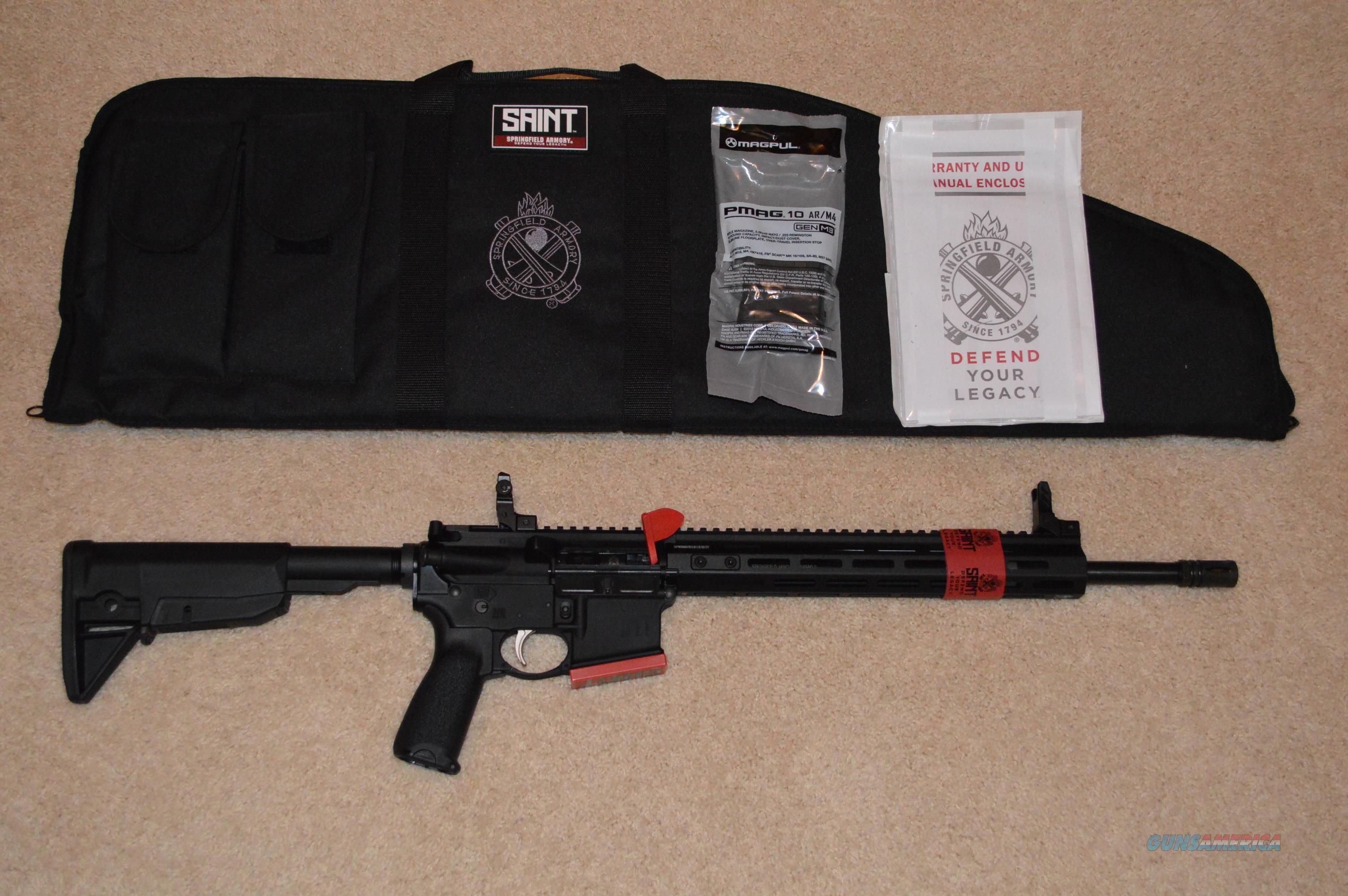 On Sale! Springfield Saint AR-15 (10 round compliant)