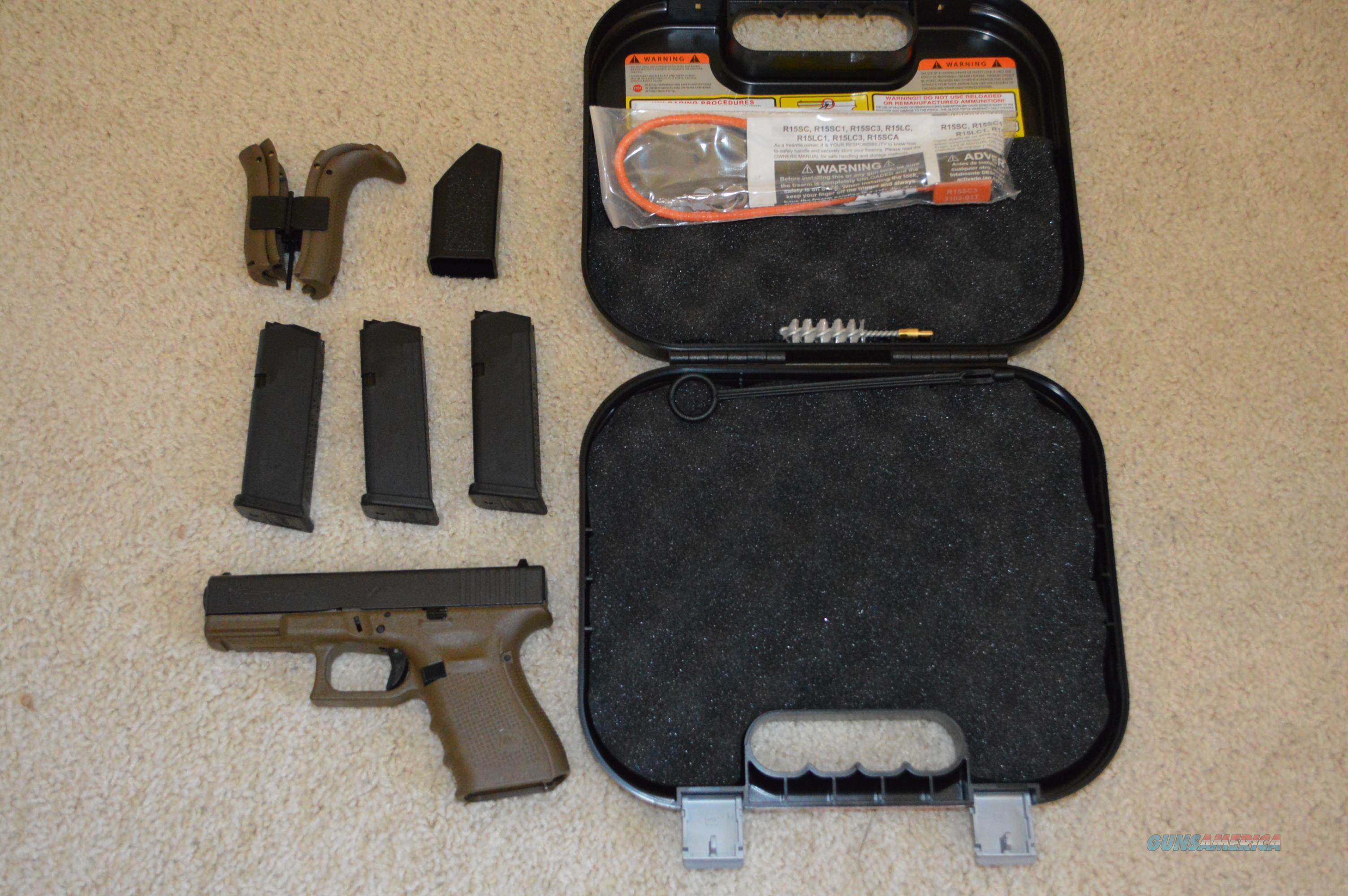 Glock 19 Gen4 FDE Frame