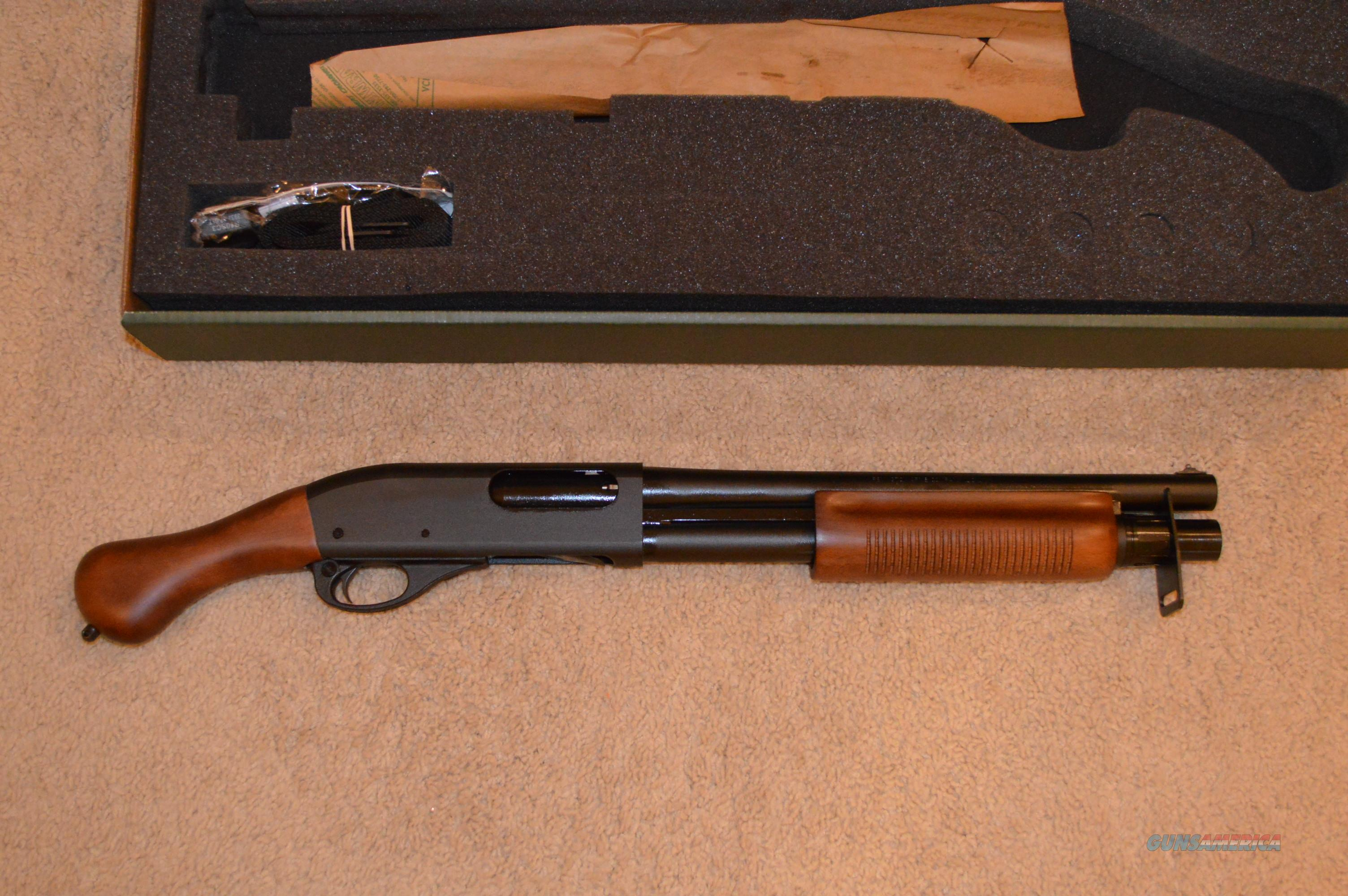 On Sale! Remington 870 TAC 14 Shockwave Wood