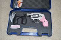Smith & Wesson 638 Airweight Pink