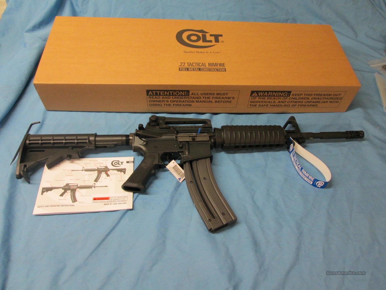 colt walther m4 carbine 22 lr for sale rh gunsamerica com colt m4 manual pdf walther colt m4 manual