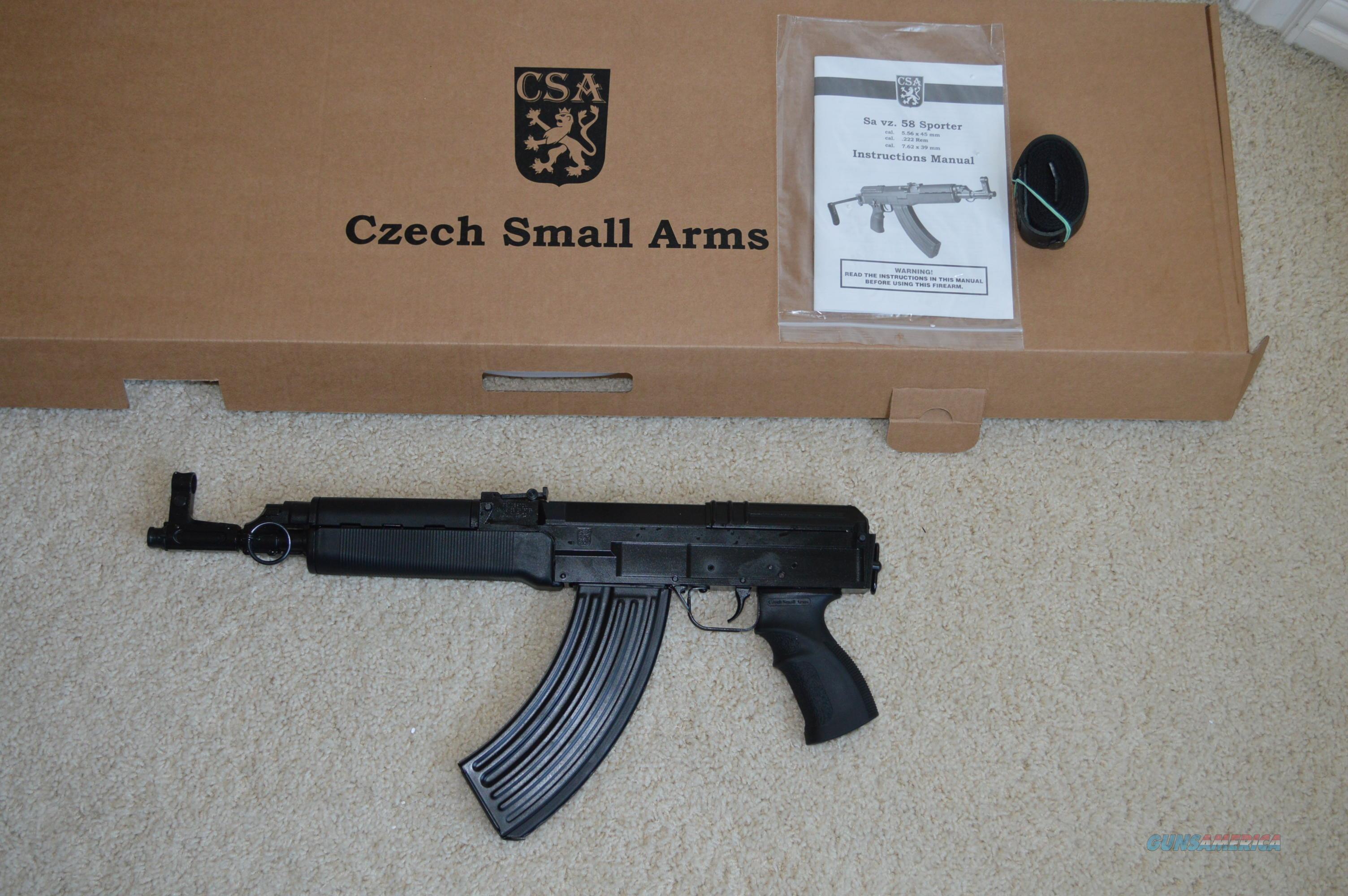 ON SALE! Czechpoint VZ-58 Pistol 7 62x39 VZ58 VZ 58