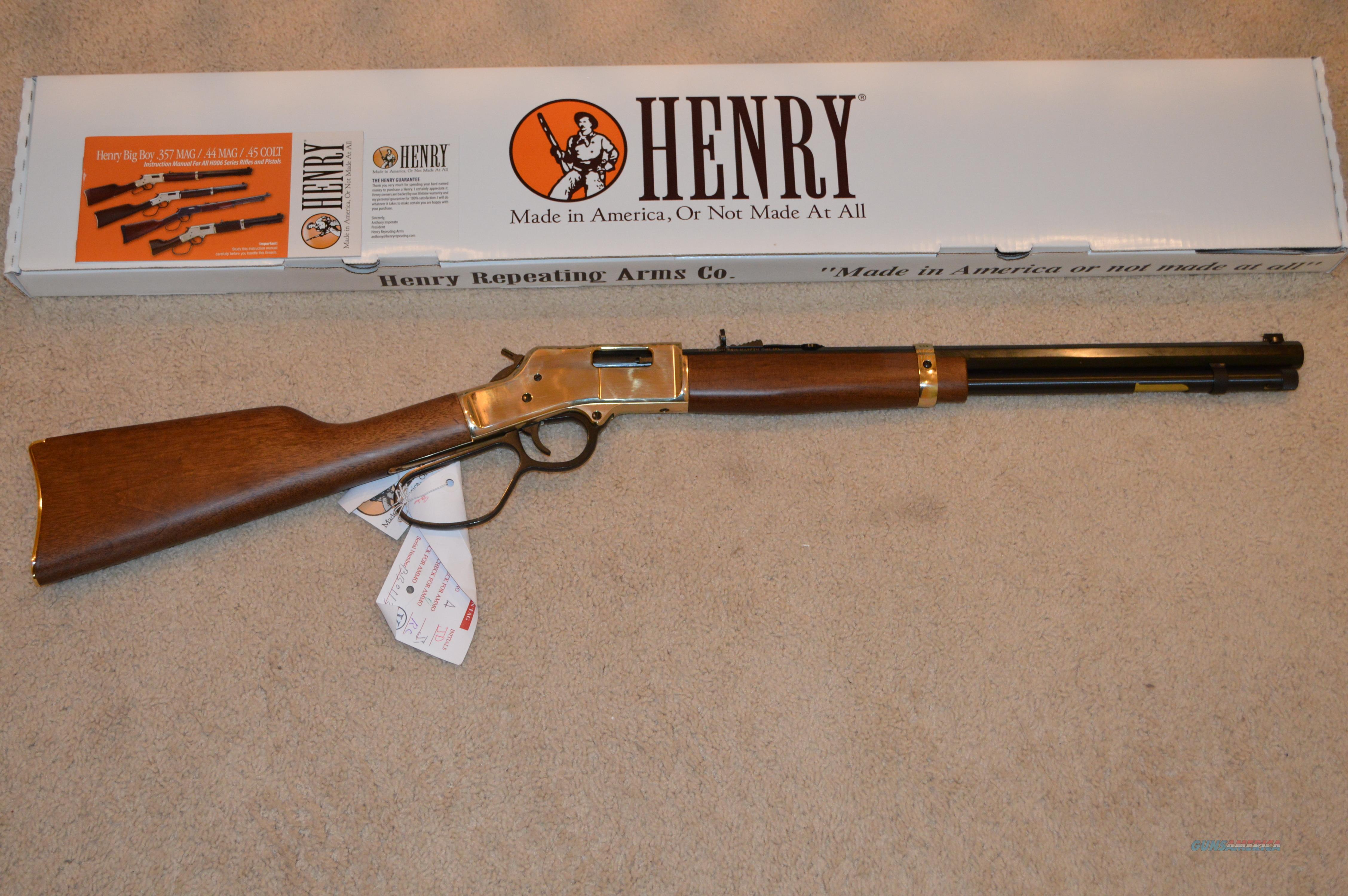 Henry Big Boy 44 Mag Large Loop For Sale