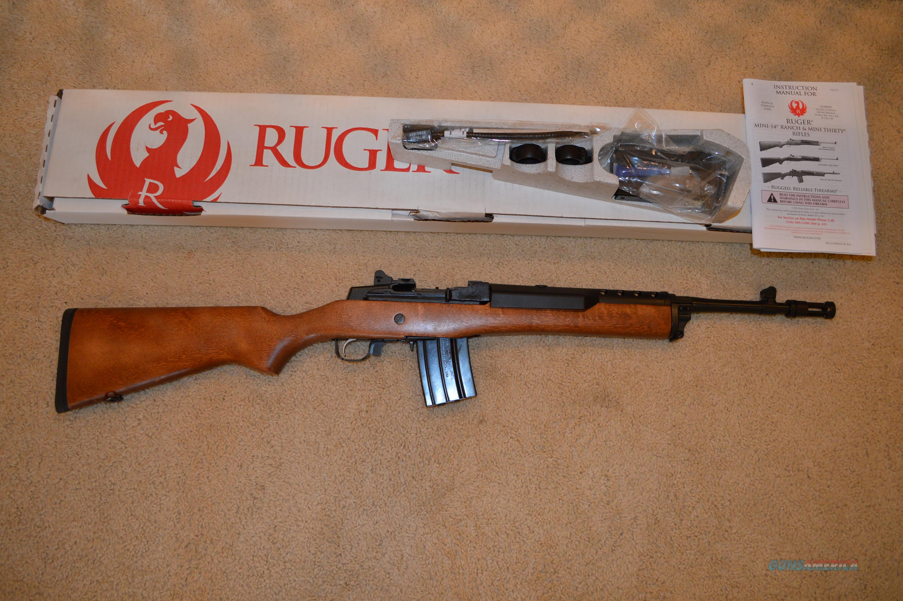 ruger mini 14 tactical for sale rh gunsamerica com Ruger Mini-14 Ranch Rifle Ruger Mini-14 Accessories