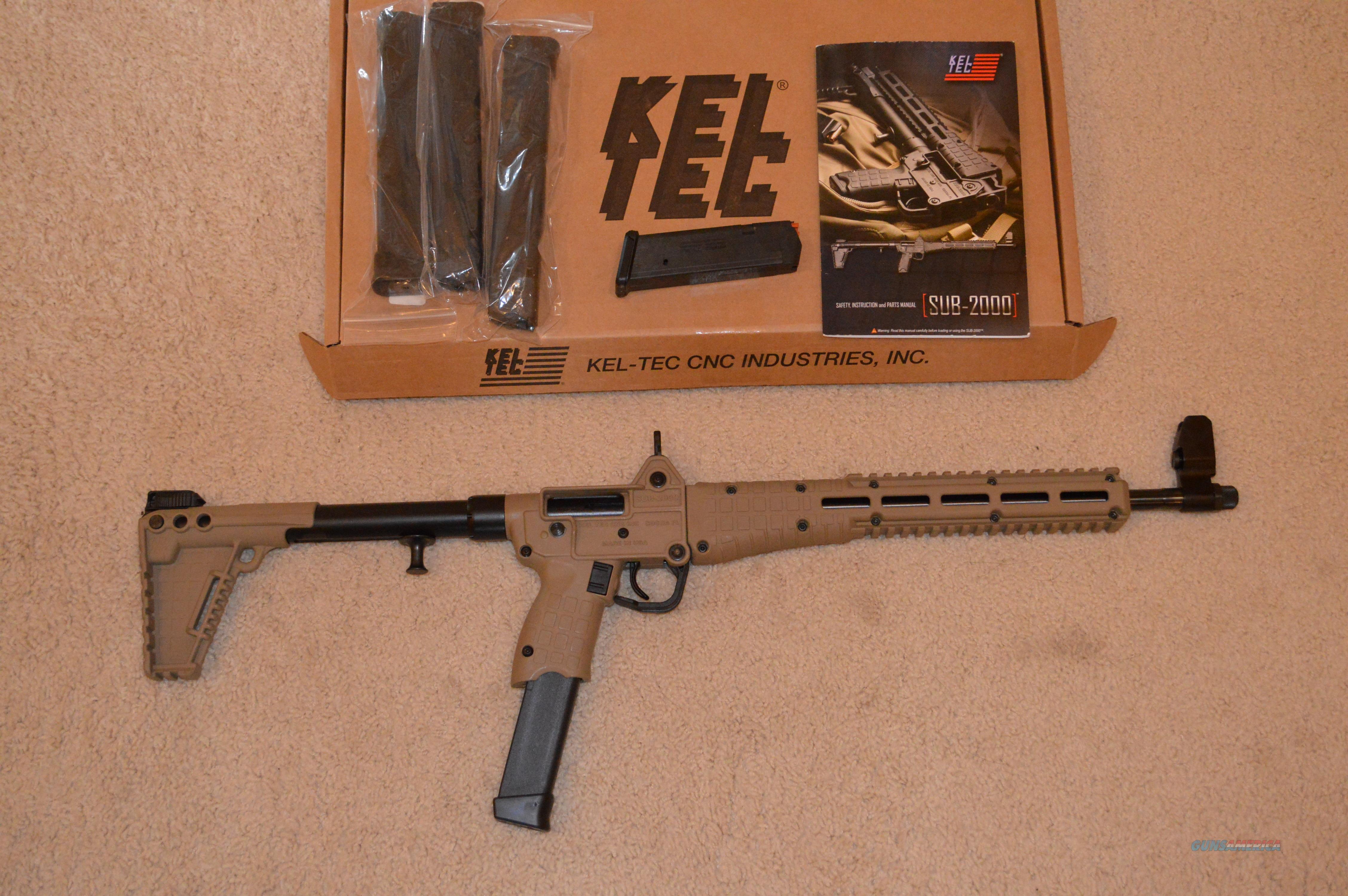 Kel-tec sub rifle 2000 instructions manual usermanuals. Tech.