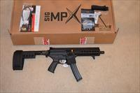 Sig MPX Pistol with Folding Brace