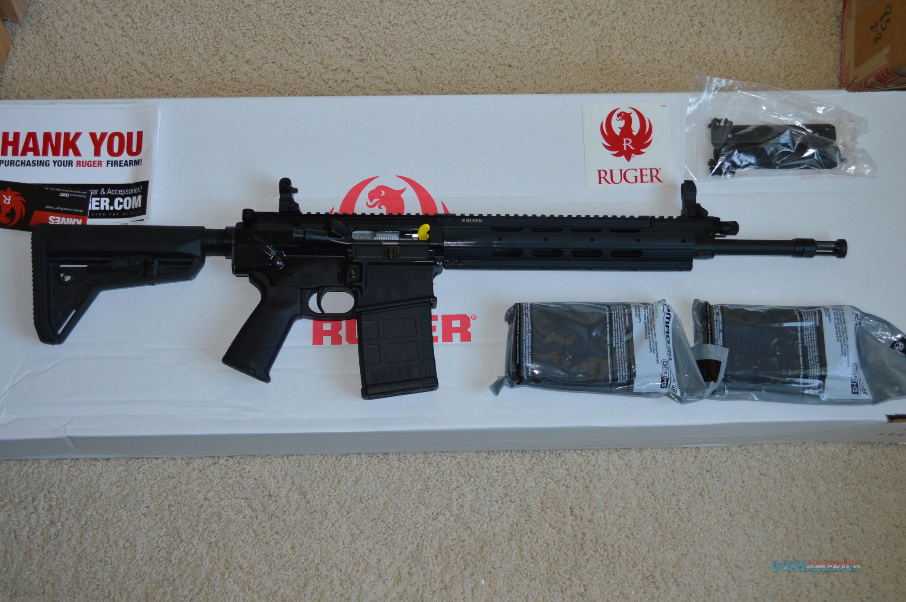ON SALE! RUGER SR-762 RIFLE 308 SR762