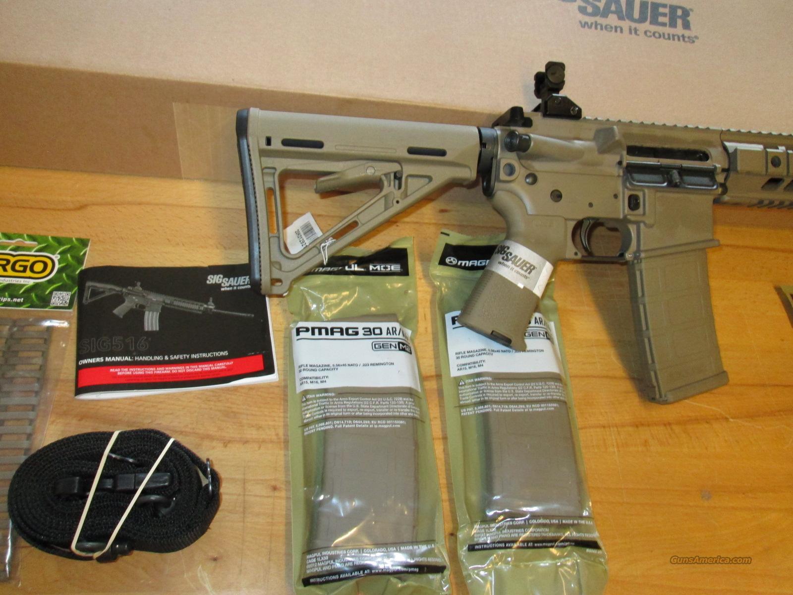 Clearance Sale  Sig 516 Fde Patrol Rifle Gen 2     For Sale