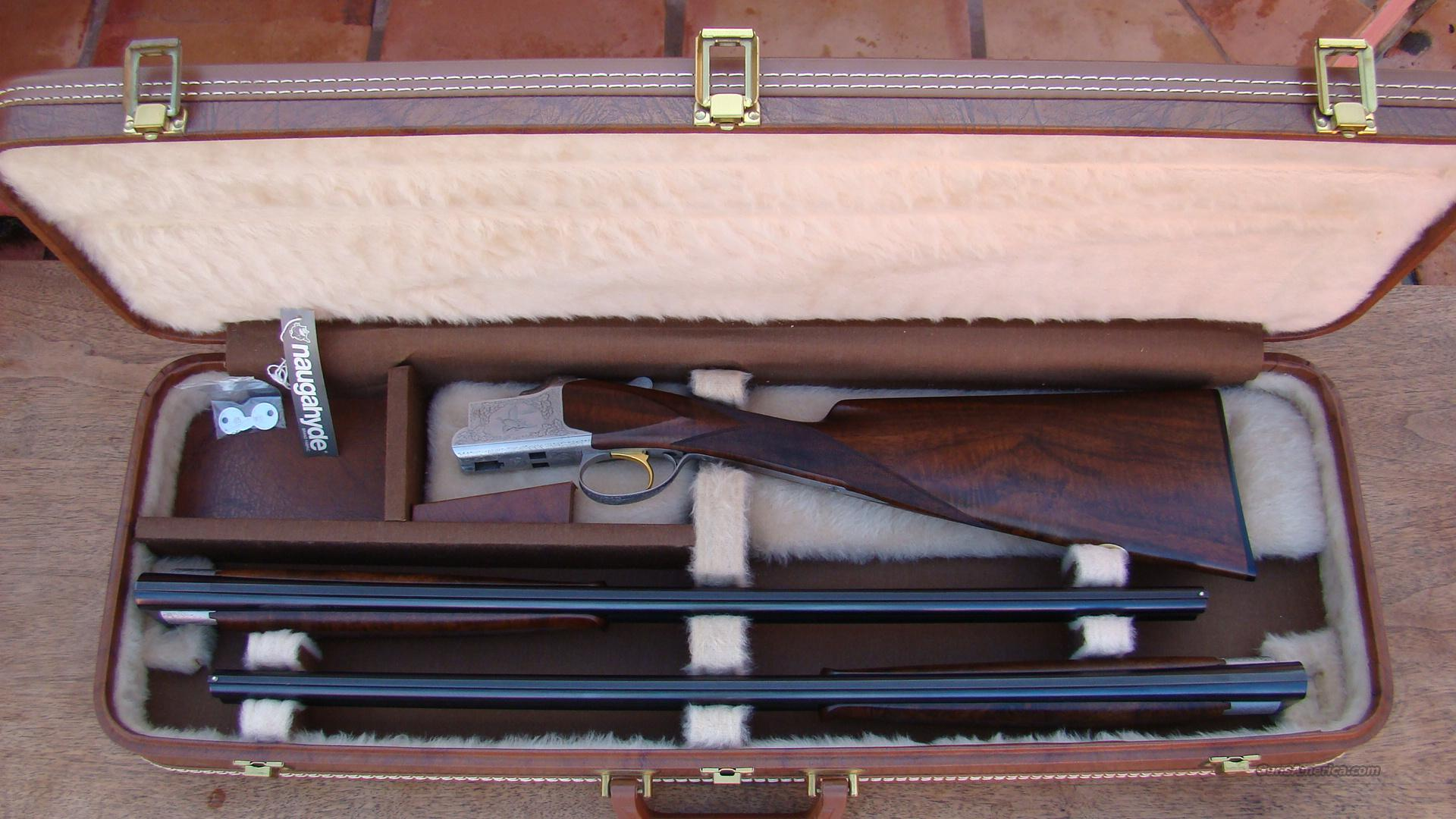 Browning Superposed Superlite Presentation Model 20 gauge two barrel set  with factory custom engraving and original case