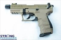 Walther P22 QD Tactical FDE (5120553)