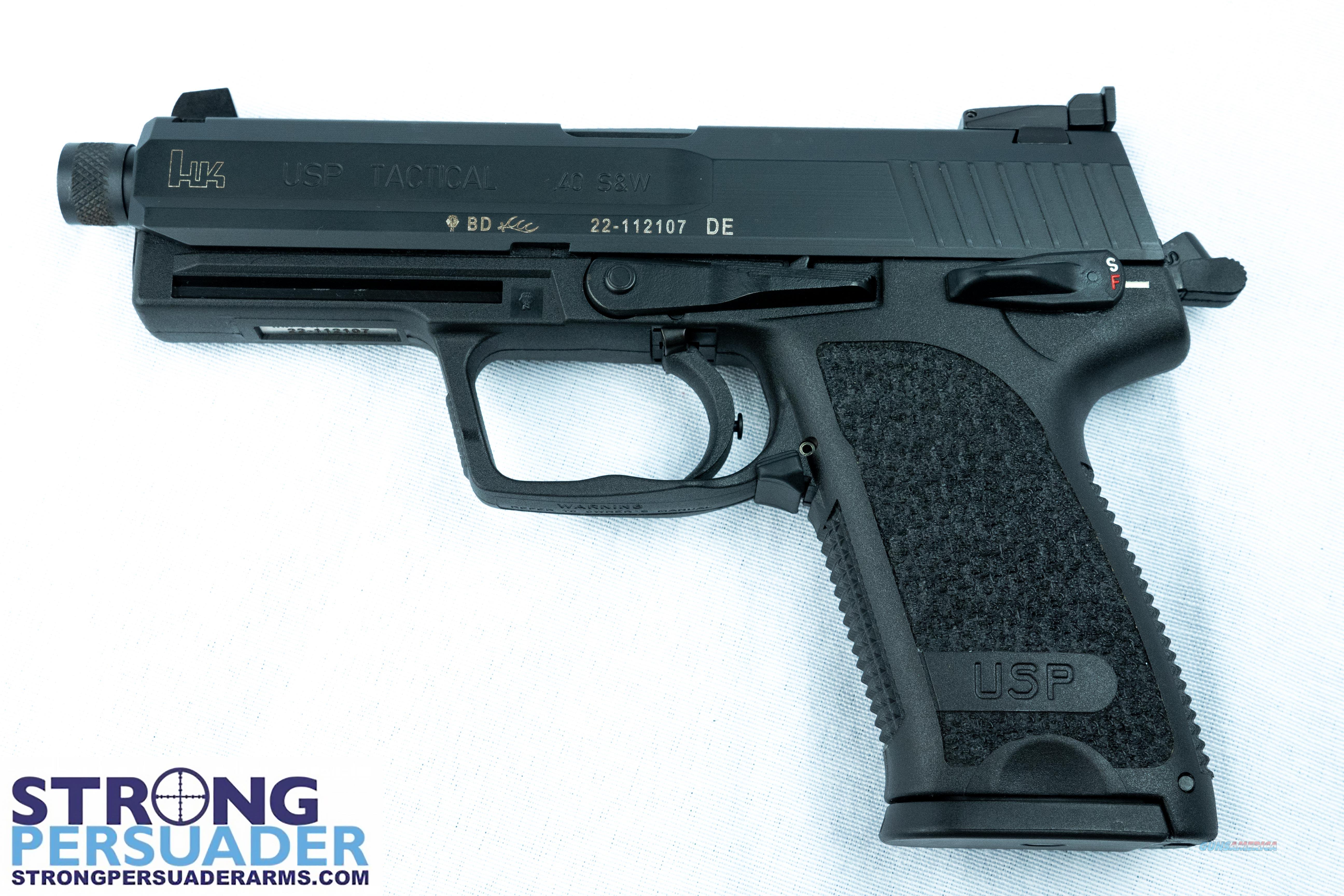 Heckler & Koch HK USP 40T V1 (M704001T-A5)