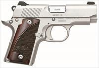 Kimber Micro 9 Stainless with Rosewood Grips (3300158)