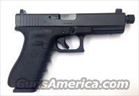 Glock 17 Gen 3 G3 9mm (Threaded Barrel w/ Suppressor Sights)