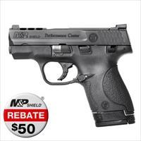 Smith and Wesson M&P Shield 9 Perf Ctr Ported Night Sights (11630)