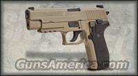 Sig Sauer MK 25 MK25 Navy w/ Night Sights FDE 3 Mags
