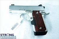 Kimber Micro 9 Stainless Rosewood Laser Grips