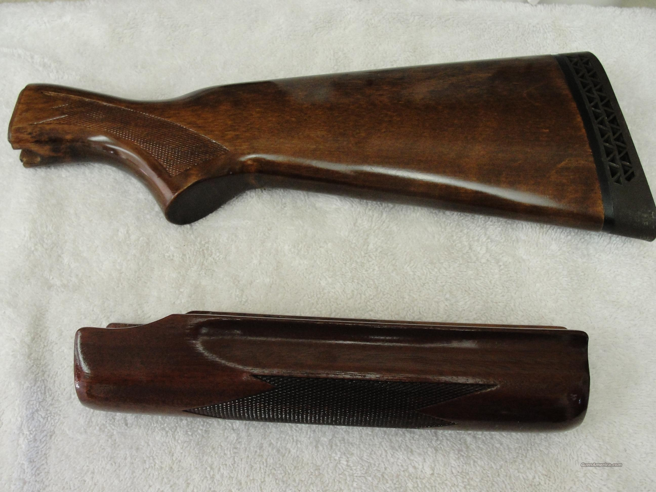 Remington 870 Wingmaster stock and forend