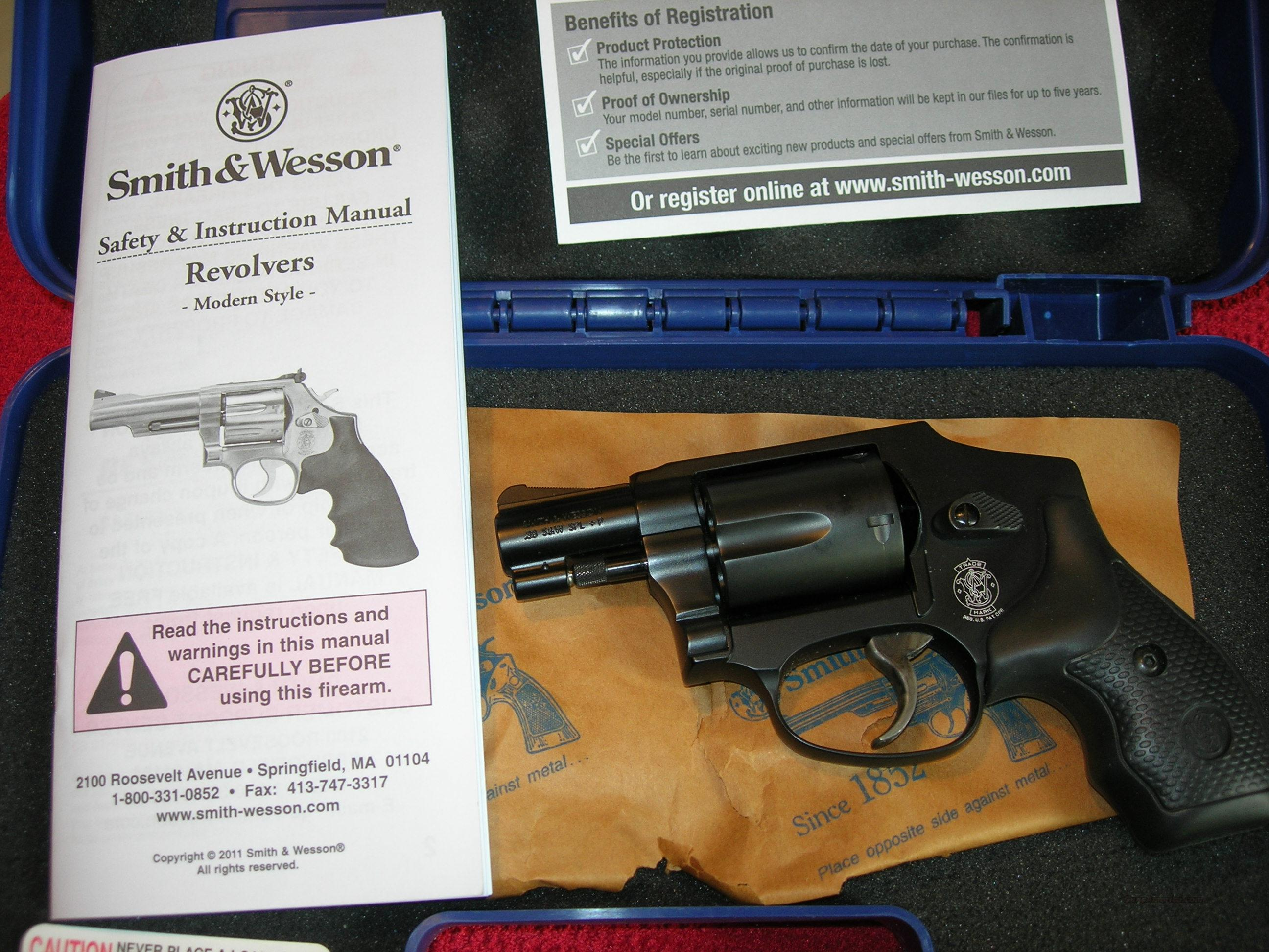 Smith & Wesson 442 J Frame Unfired No Internal Lock