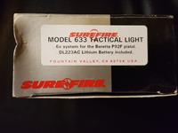 SUREFIRE Model 633 Tactical Light for Beretta P92F
