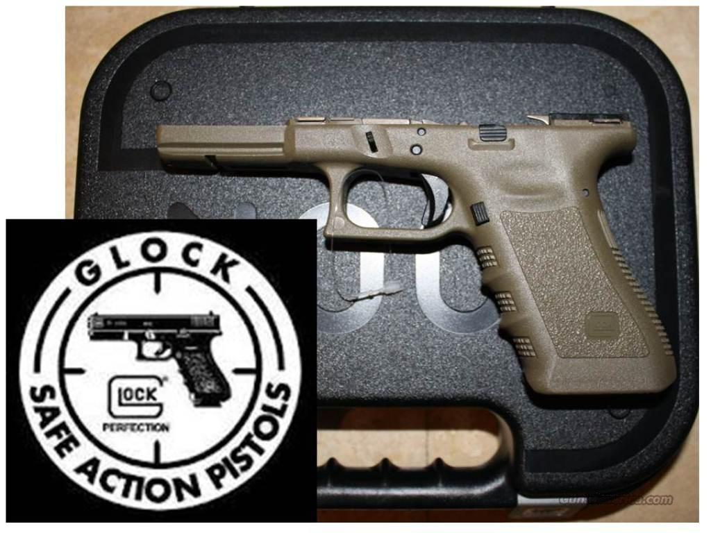 GLOCK 22 GEN 3 OD GREEN FRAME KIT for sale