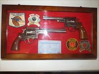 RUGER REDHAWK 44 MAG RUGER SECURITY SIX 357 POLICE MARKSMEN ASSOCIATION SPECIAL EDITION