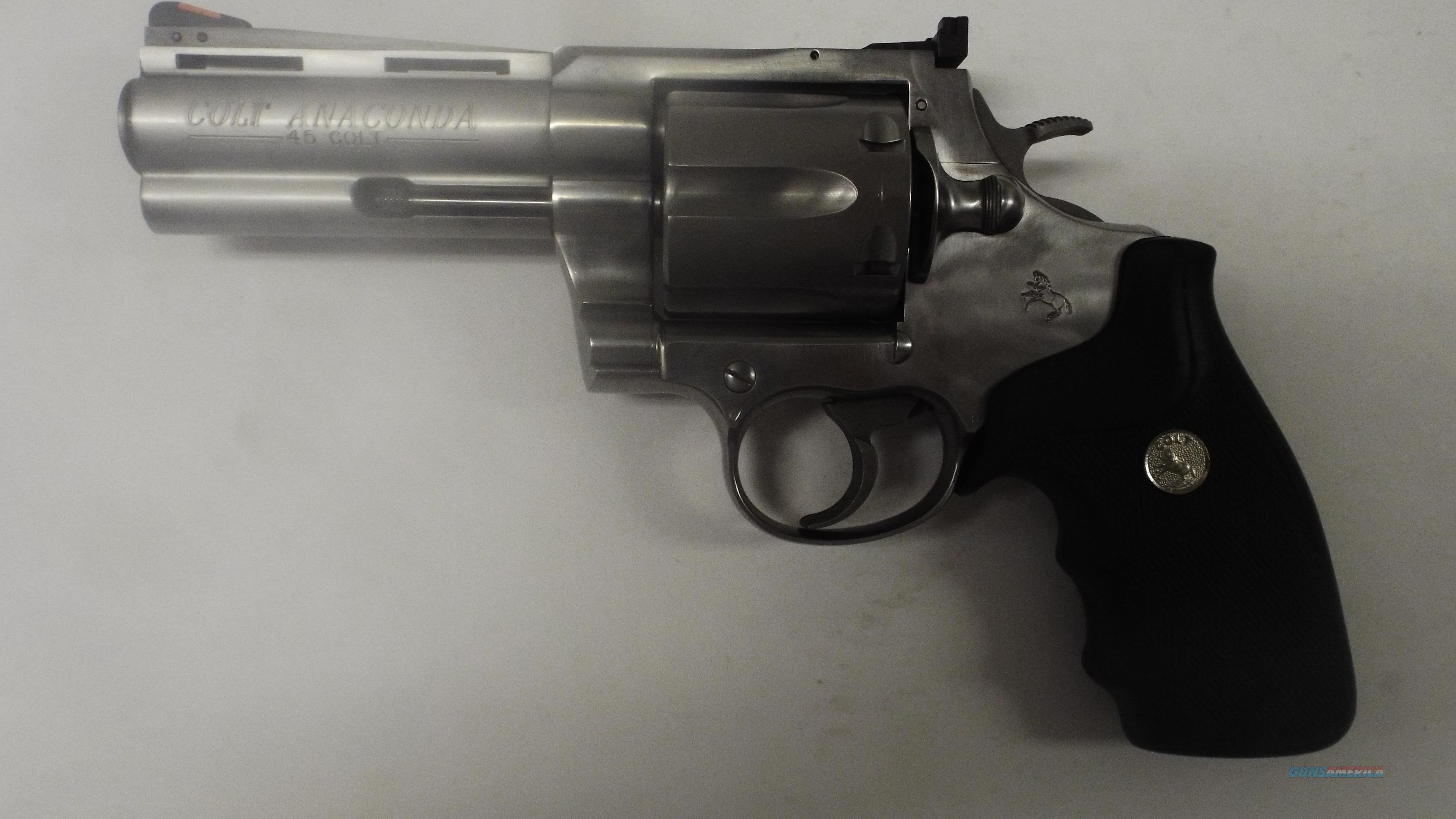 UNICORN GUN COLT ANACONDA 45 LONG COLT 4 INCH STAINLESS