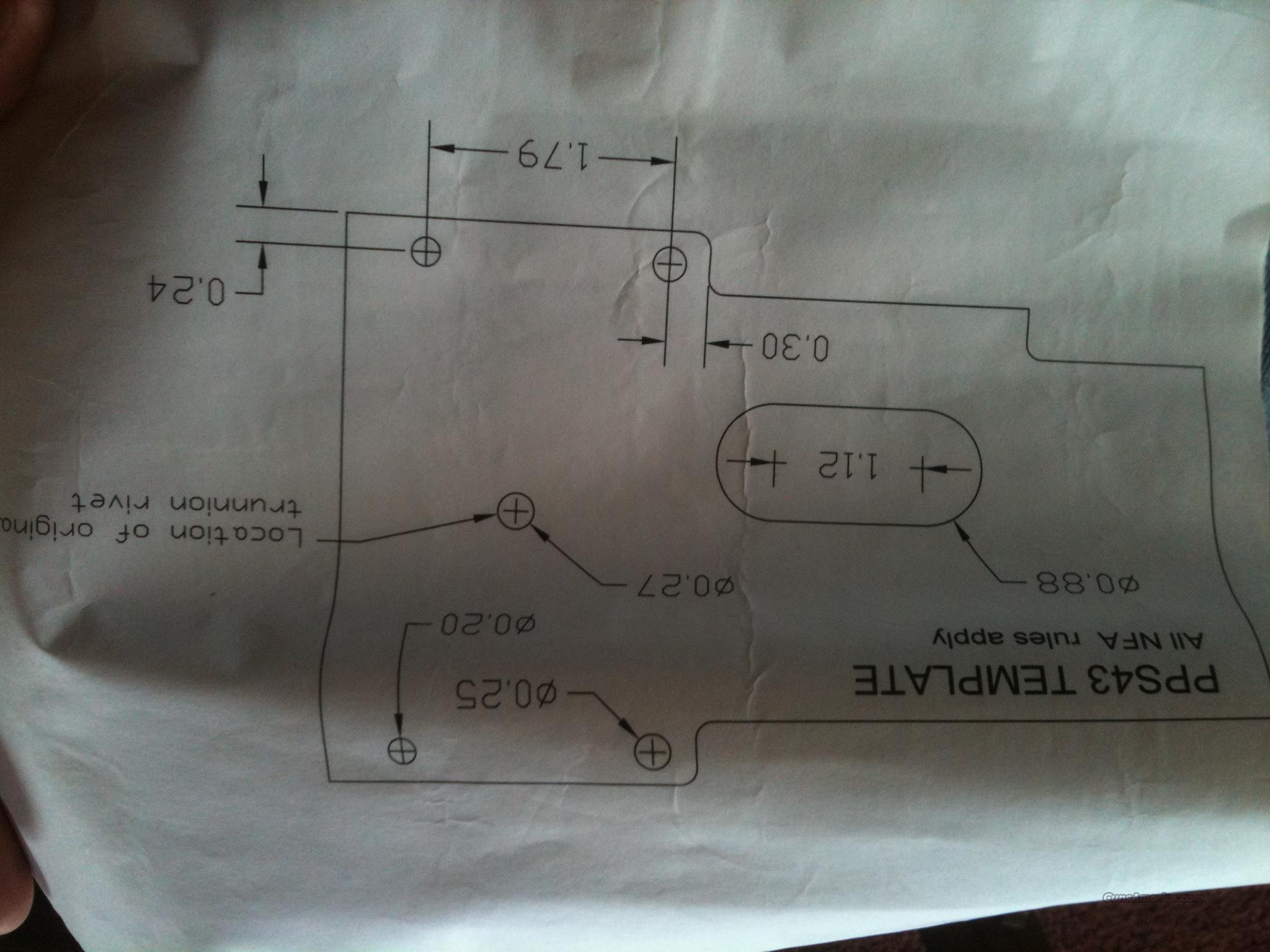 four (4) PPS-43 Parts Kit(s)