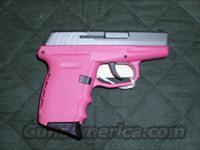 SCCY CPX-2 PINK 9MM PISTOL